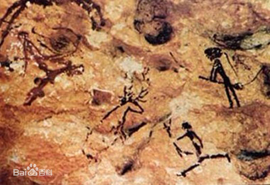 拉文特岩画