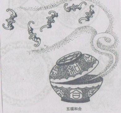 中国古代和蝙蝠有关的一些吉祥图案和词语(成语)