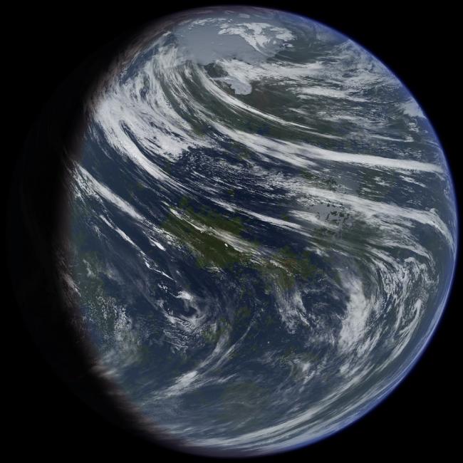 """金星本来是宜居的,但它上面的海洋""""杀""""死了它"""