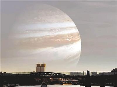 """仲夏夜里 看木星和太阳唱""""对台戏"""""""